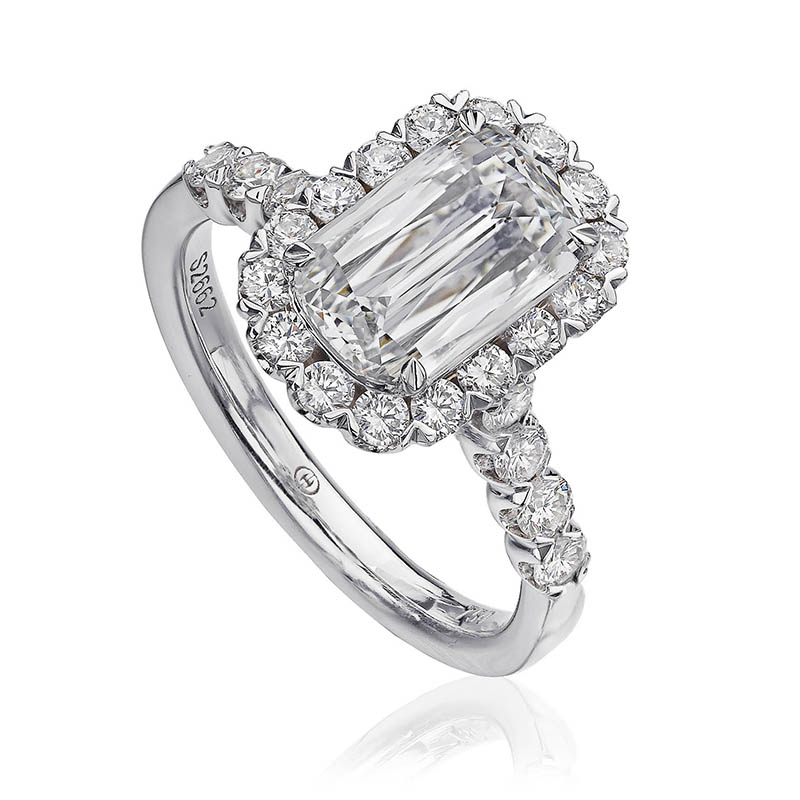 Cushion-Oval Diamond Ring