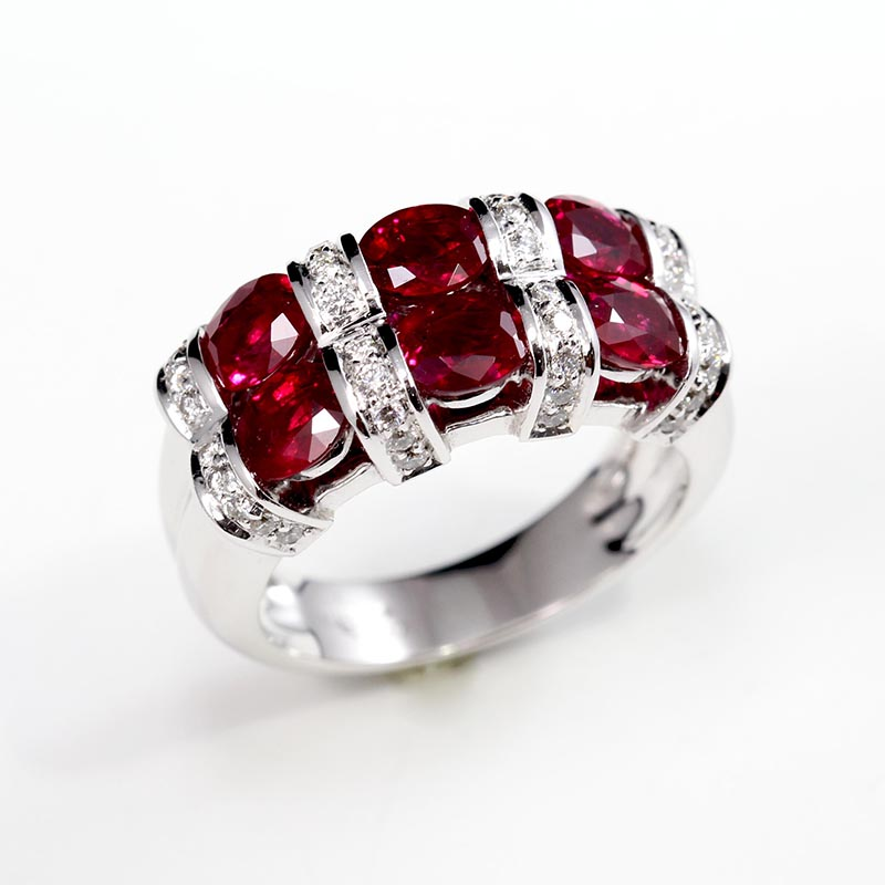 Diamond and Ruby Double Band