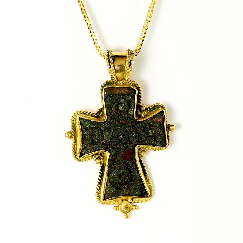 Bronze Byzantine Cross
