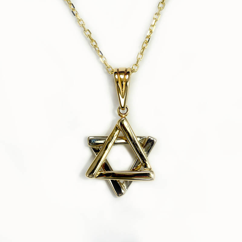 Two Tone Star of David