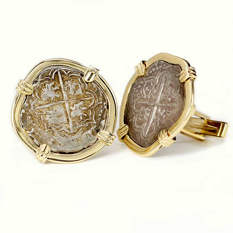 Ancient Coin Cuff-Links