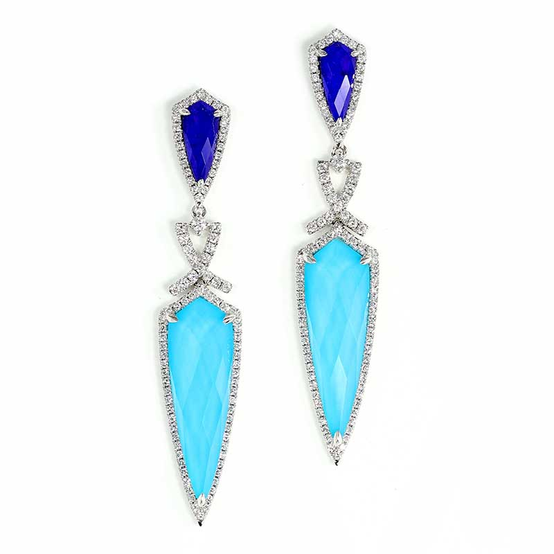 St. Bart's Dagger Earrings