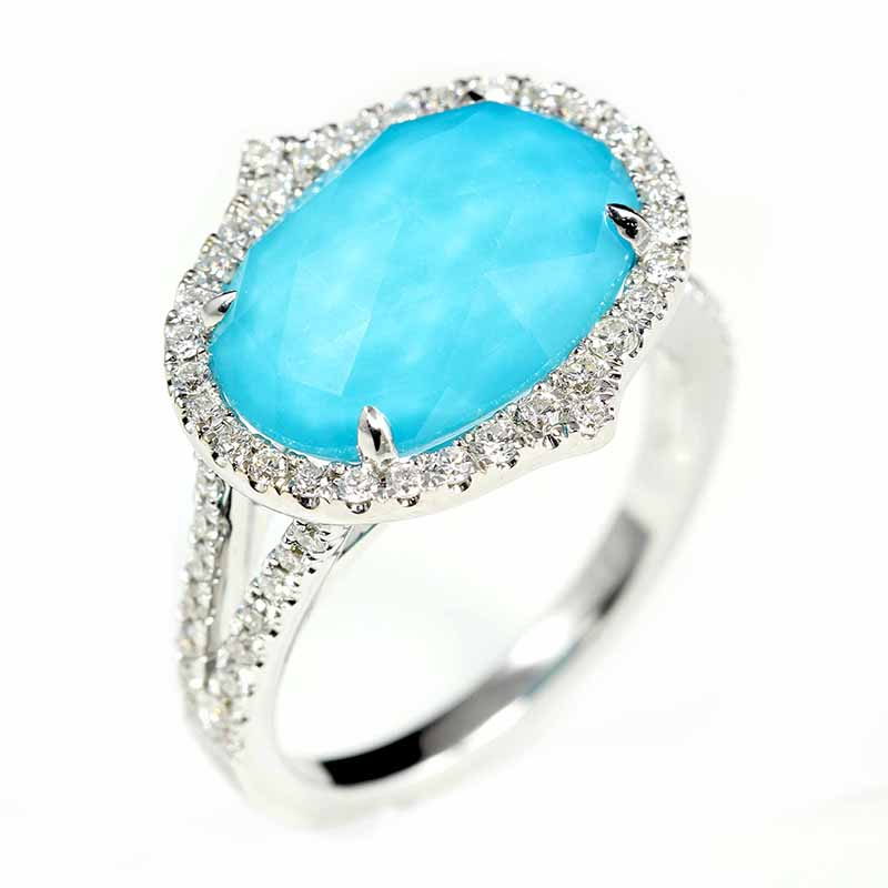 St. Barts Blue Ring