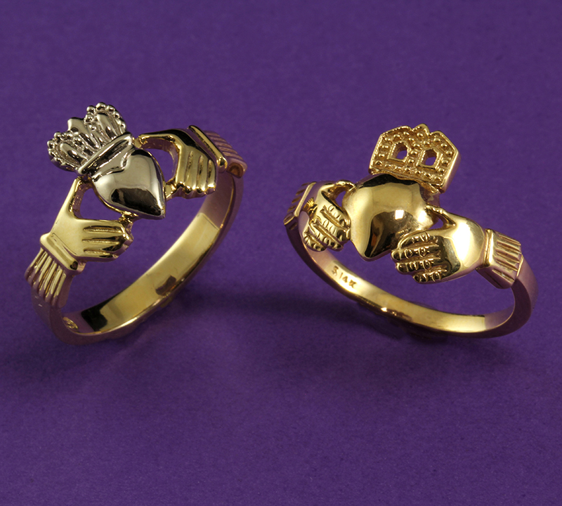 Women's Claddagh Rings