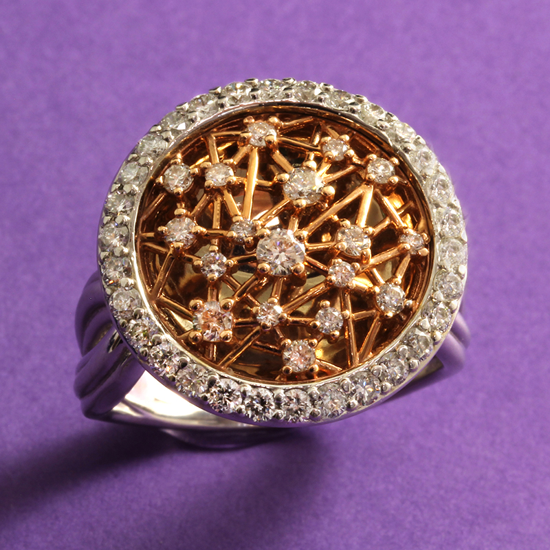 Two Tone Web Ring